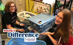 Making a Difference: CMS Community Service Day Pilot