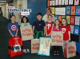 Making a Difference: District Holiday Gift Drive