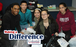 Making a Difference: Laurel House Clothing Drive