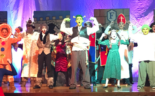 Shrek the Musical JR.: This weekend only at CMS
