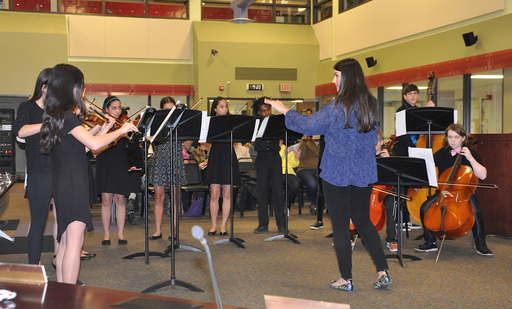 School Board celebrates Music in Our Schools Month