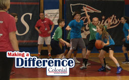 Making A Difference: CMS Hoops for Hope