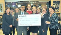 Kiwanis helps Colonial launch CHOW program