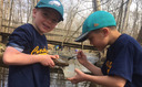 CE first graders visit Peace Valley Nature Center