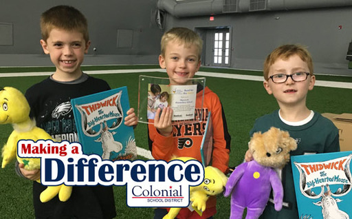 Making A Difference: Read for the House