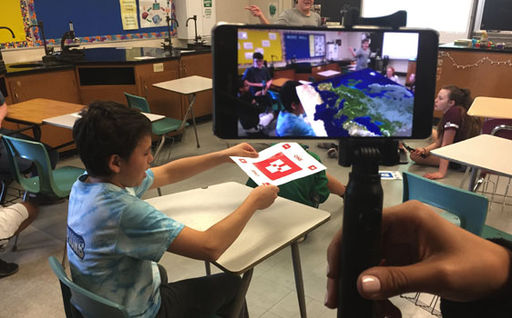 Colonial School District beta tests new Google augmented reality