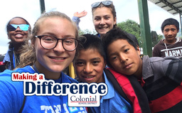Making A Difference: PW Service Club