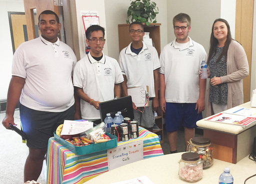 Traveling Treats Cafe helped keep students' skills fresh over the summer