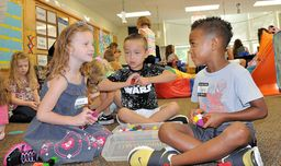 Colonial welcomes kindergartners