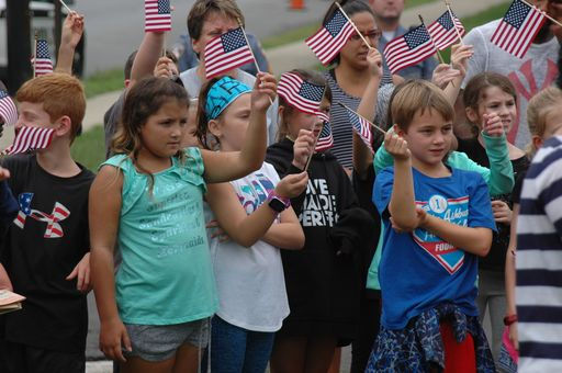 Whitemarsh Elementary honors Patriot Day by celebrating heroes