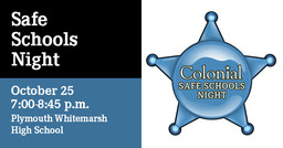 Colonial Safe Schools Night: Registration to remain open