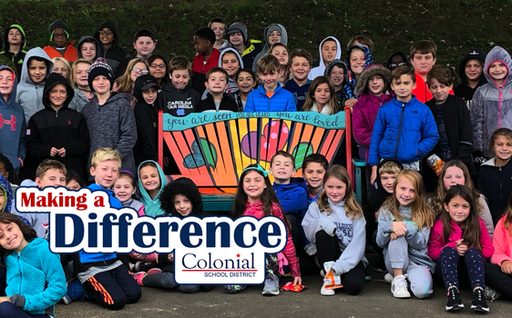 Making A Difference: Buddy Benches at Whitemarsh Elementary School