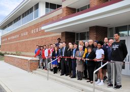 New high school gymnasium now open