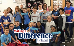 Making A Difference: Bullying Prevention Month at Colonial Elementary