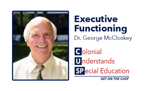 CUSP presents Dr. George McCloskey on November 19