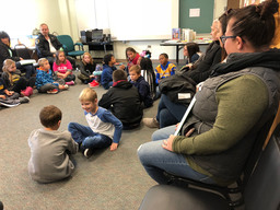 "Conshohocken Elementary parents see how ""Morning Meetings"" set the tone for the day"