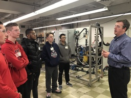 PWHS students explored engineering at De Nora Career Day