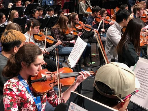 PWHS hosted District Orchestra Festival
