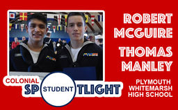 Student Spotlight – Robert McGuire and Thomas Manley
