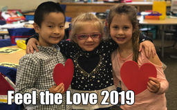 Feel the Love 2019: Recognize a Teacher or Staff Member in February