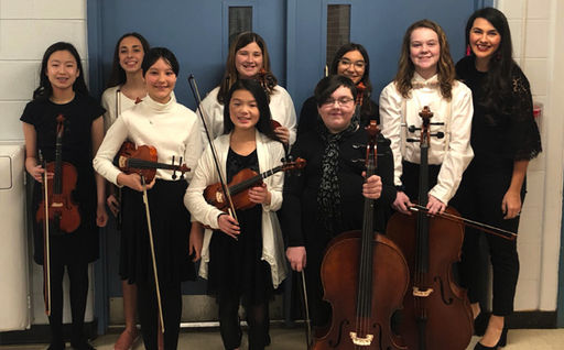 CMS takes eight to area orchestra festival