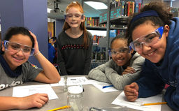 CMS sixth graders use science to solve a crime