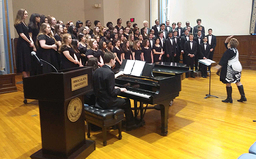 PWHS singers went on the road to close Music In Our Schools Month