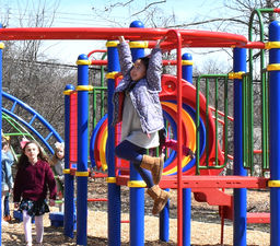 Students at Plymouth and Ridge Park to benefit from new playground equipment
