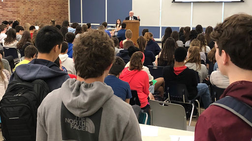 Holocaust survivors spoke to students at CMS and PWHS