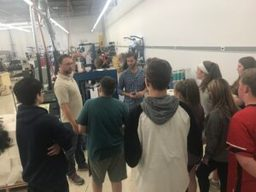 CMS students visit LEM Products, Inc.