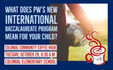 Will PW's new International Baccalaureate program be the right fit for your child?