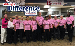 Making A Difference: District Pink Out
