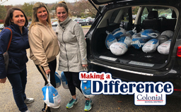 Making A Difference: WE Serves
