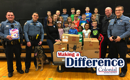 Making A Difference: Whitemarsh Elementary & Whitemarsh Township Police Food Drive
