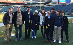 CITV students go behind-the-scenes at Lincoln Financial Field