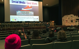 CES hosted evening Social Media presentation