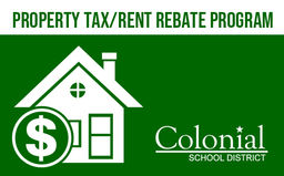 Colonial offers new Property Tax/Rent Rebate Program