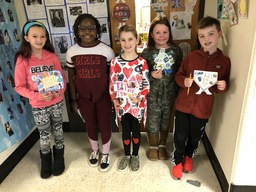 "CES students designed ""Soundsuits"" in Black History Month project"