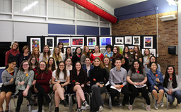 PWHS National Art Honor Society welcomes 40+ inductees