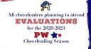 Interested in cheerleading at PW next year?
