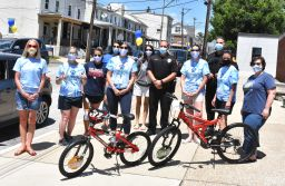 Conshohocken Police sponsor annual bike giveaway at CE