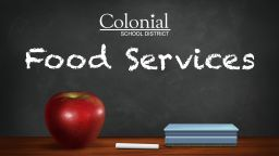 Colonial again able to offer free meals