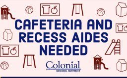 Playground/Cafeteria Aides Needed