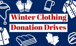 Help someone stay warm this winter: Clothing Drives