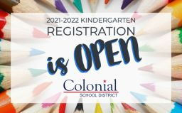 2021-2022 Kindergarten Registration is open