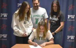 Tulio signs to swim Division I at Loyola University Maryland