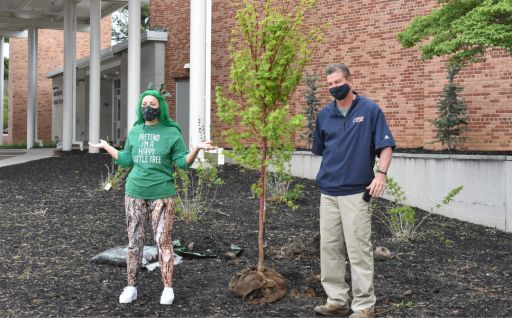 Elementary students participate in virtual tree planting