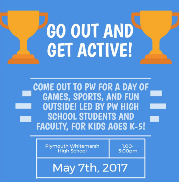 Go out and get active flyer