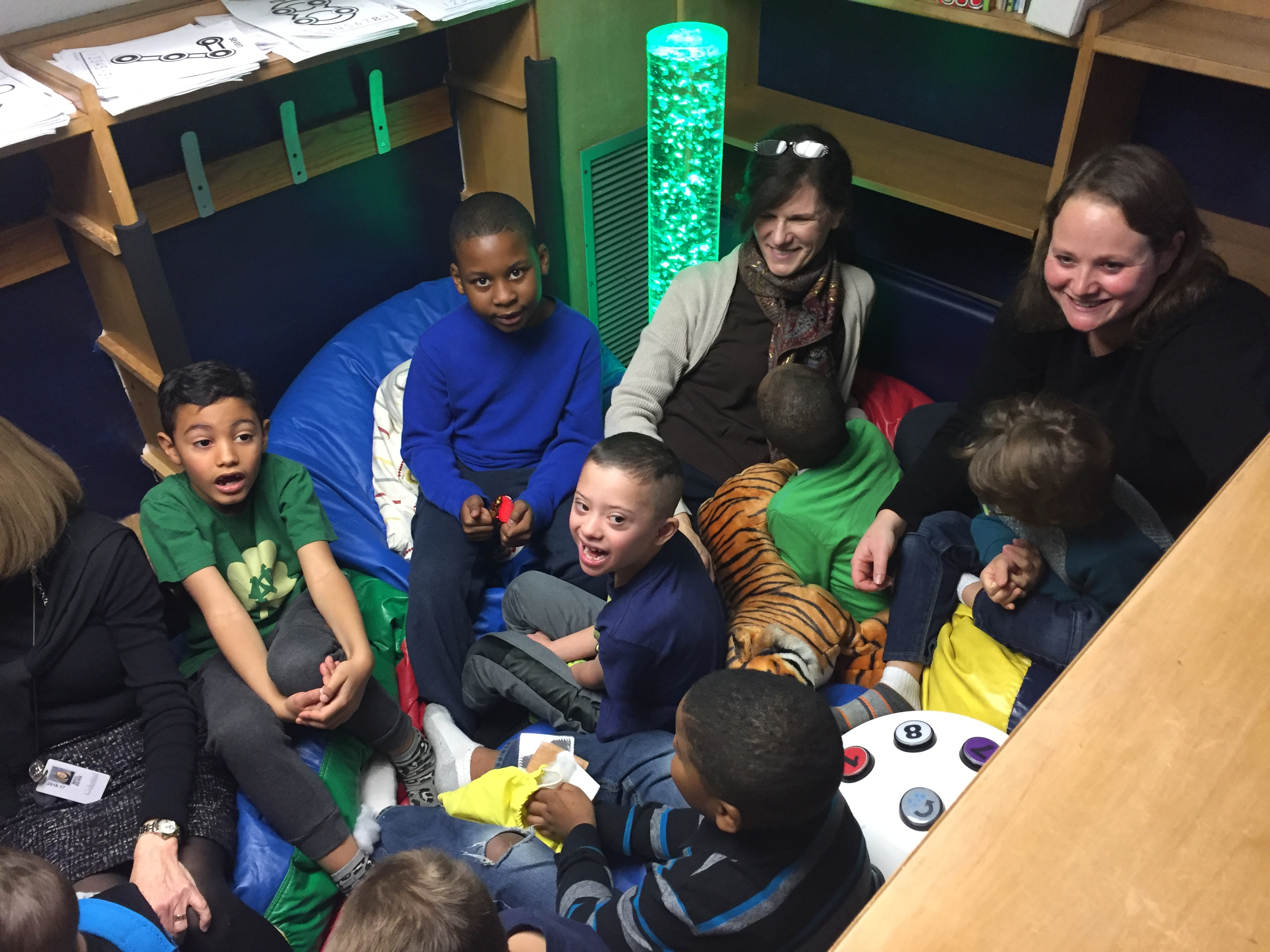 Whitemarsh Elementary dedicates new Sensory Space | News Item CMS