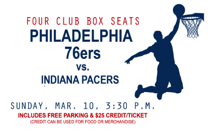 76ers vs. pacers promo